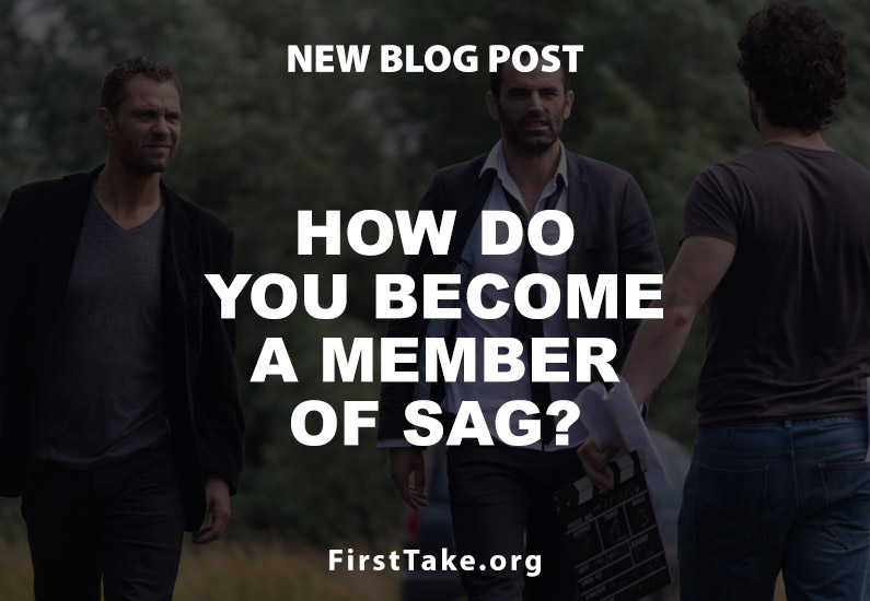 How do you become a member of SAG?